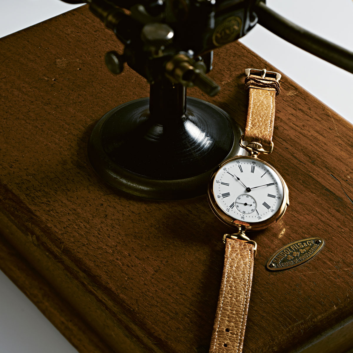 The world's first minute-repeating wristwatch