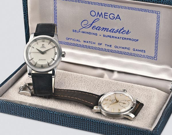 The first OMEGA Seamaster watches