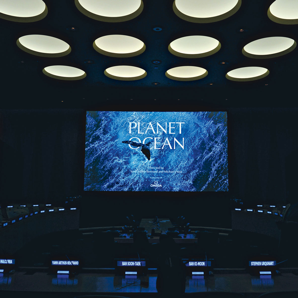 Planet Ocean at the United Nations, New York