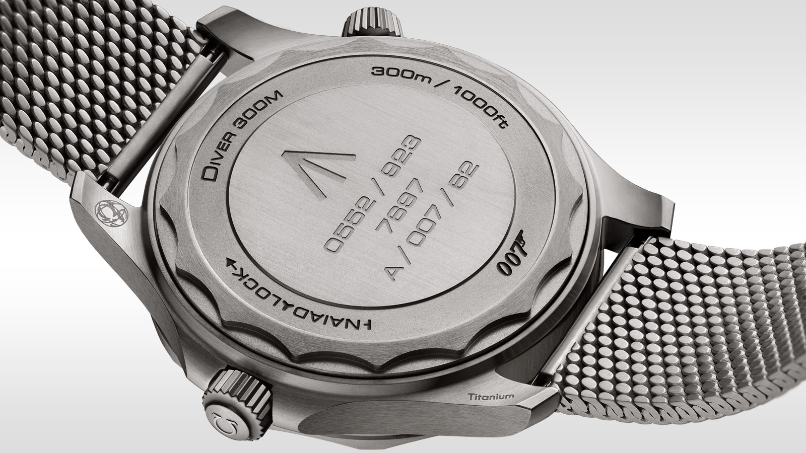 Seamaster Diver 300 M Diver 300M Omega Co‑Axial Master Chronometer 42 mm - 210.90.42.20.01.001 - View 3