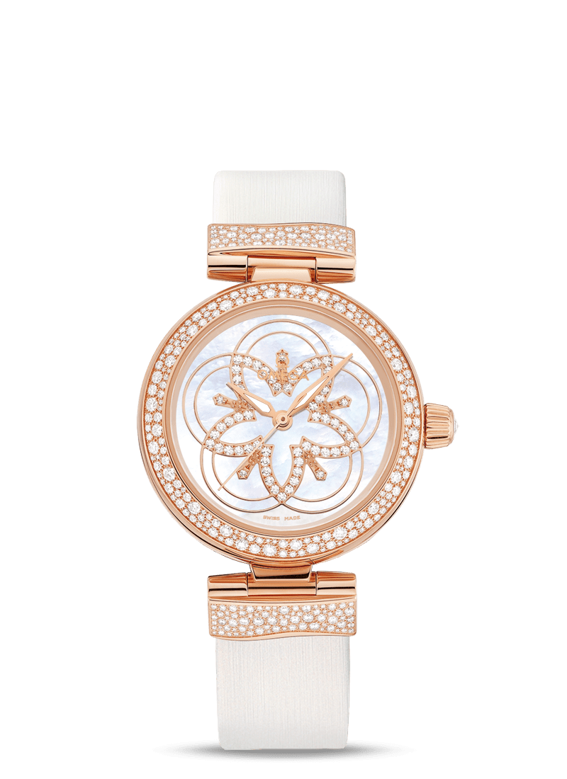 De Ville Ladymatic Co-Axial Chronometer 34 mm - SKU 425.67.34.20.55.006 Watch presentation