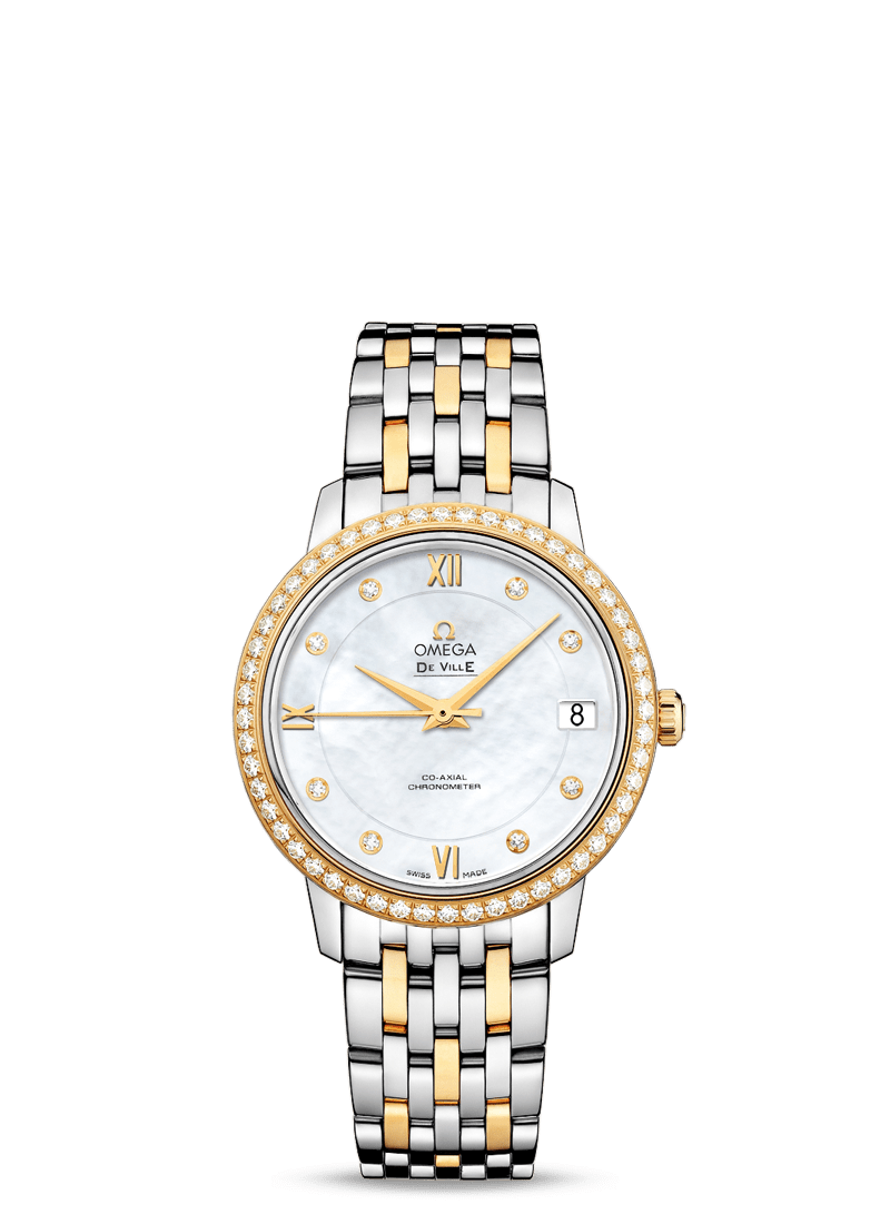De Ville Prestige Butterfly - SKU 424.25.33.20.55.001 Watch presentation