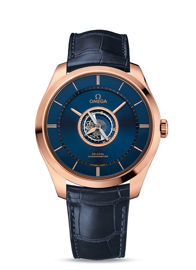 De Ville Tourbillon Co-Axial Chronometer Numbered Edition 44 mm - SKU 528.53.44.21.03.001 Watch presentation