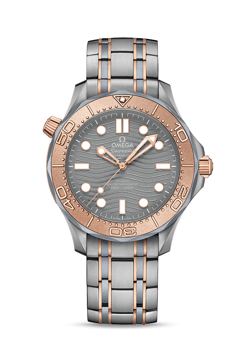 Seamaster Diver 300M Co-Axial Master Chronometer Chronograph 42 mm - SKU 210.60.42.20.99.001 Watch presentation