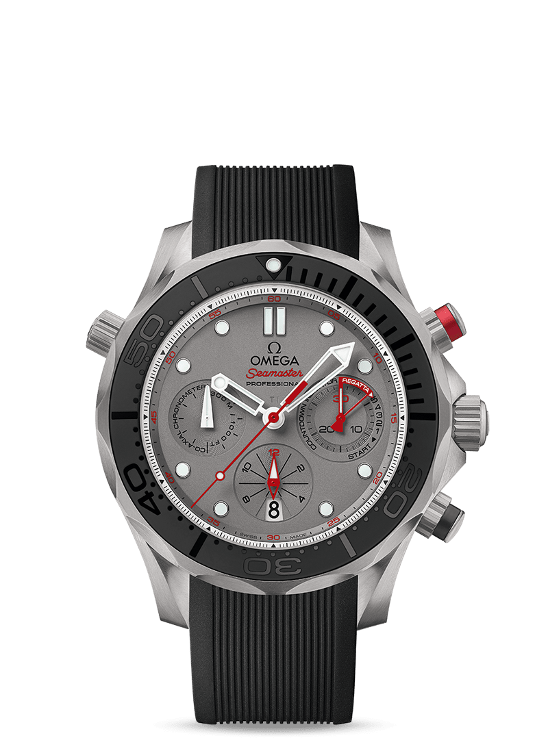 Seamaster Diver 300M ETNZ - SKU 212.92.44.50.99.001 Watch presentation