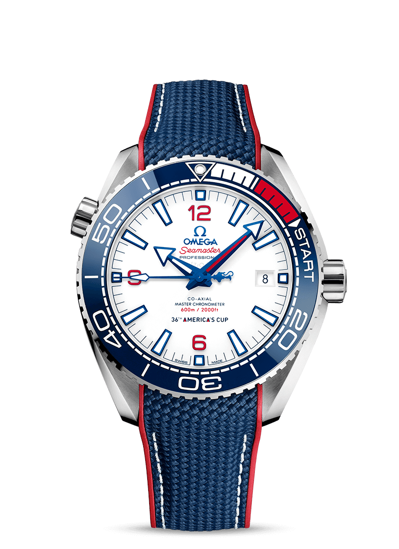 Seamaster Planet Ocean 600M Coupe de l'America - SKU 215.32.43.21.04.001 Watch presentation