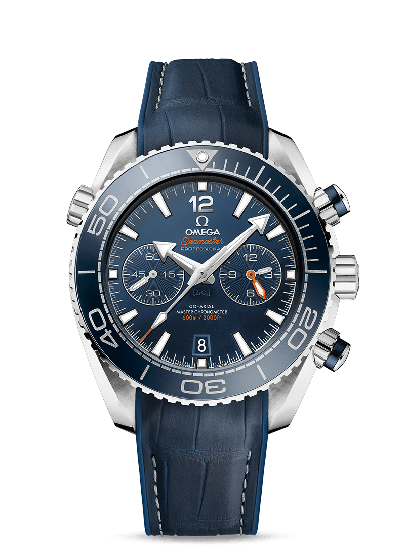 Seamaster Planet Ocean 600M Co-Axial Master Chronometer Chronograph 45.5 mm - SKU 215.33.46.51.03.001 Watch presentation