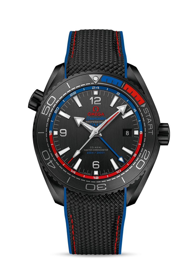 "Seamaster Planet Ocean 600M ""ETNZ"" Deep Black - SKU 215.92.46.22.01.004 Watch presentation"