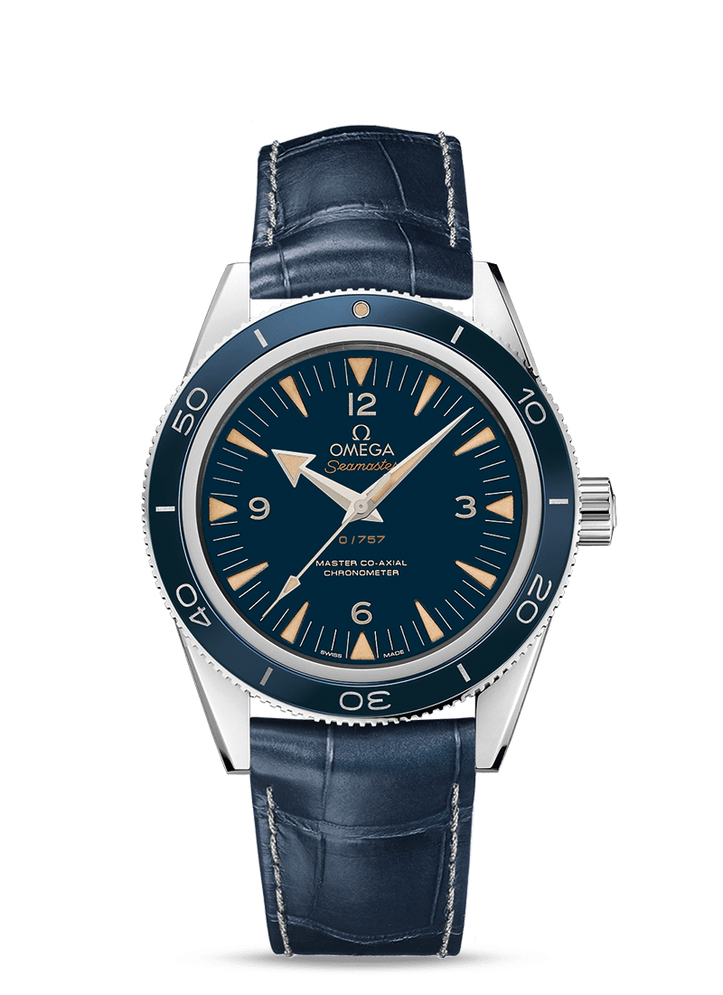 Seamaster Seamaster 300 Omega Master Co-Axial 41 mm - SKU 233.93.41.21.03.001 Watch presentation