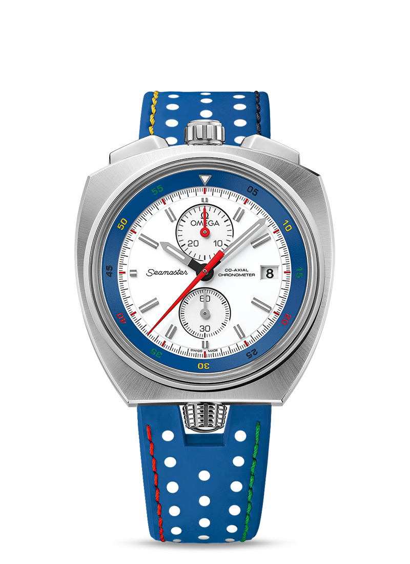 "Seamaster Bullhead ""Rio 2016"" Limited Edition - SKU 522.12.43.50.04.001 Watch presentation"