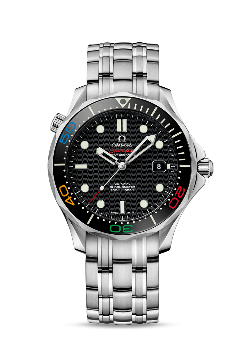 "Seamaster Diver 300M ""Rio 2016"" Limited Edition - SKU 522.30.41.20.01.001 Watch presentation"