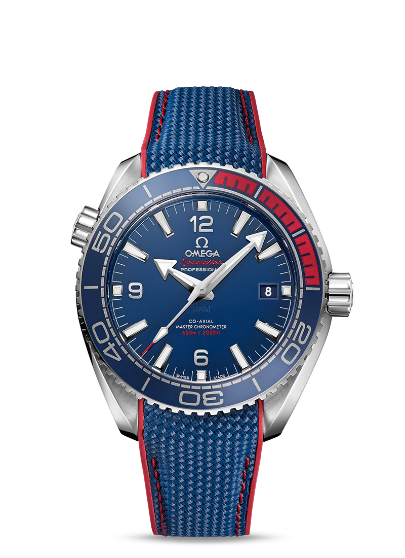 "Seamaster Planet Ocean 600M Лимитированная Серия ""Pyeongchang 2018"" - SKU 522.32.44.21.03.001 Watch presentation"