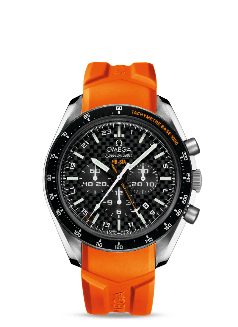 Speedmaster HB-SIA Co-Axial GMT Chronograph Numbered Edition 44,25mm - SKU 321.92.44.52.01.003 Watch presentation