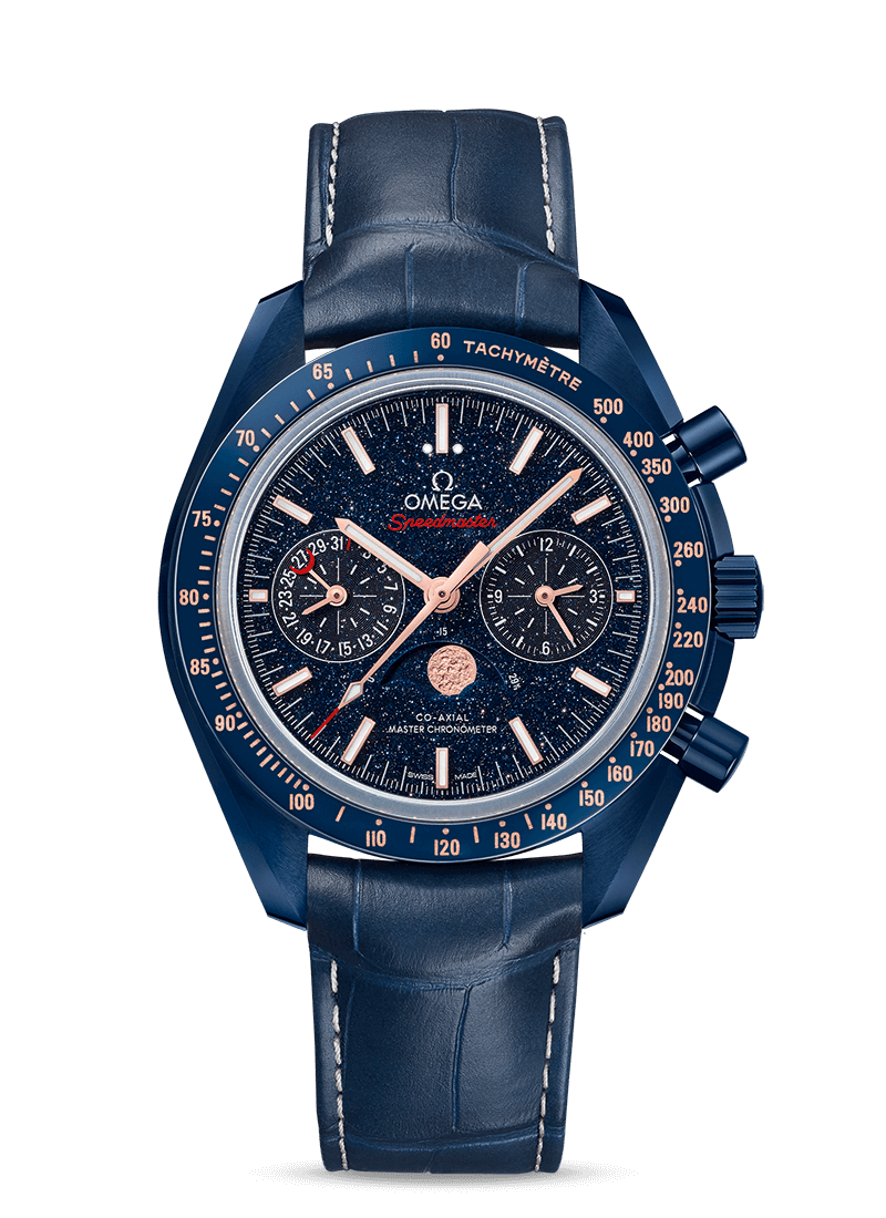 Speedmaster Moonwatch Blue Side Of The Moon - SKU 304.93.44.52.03.002