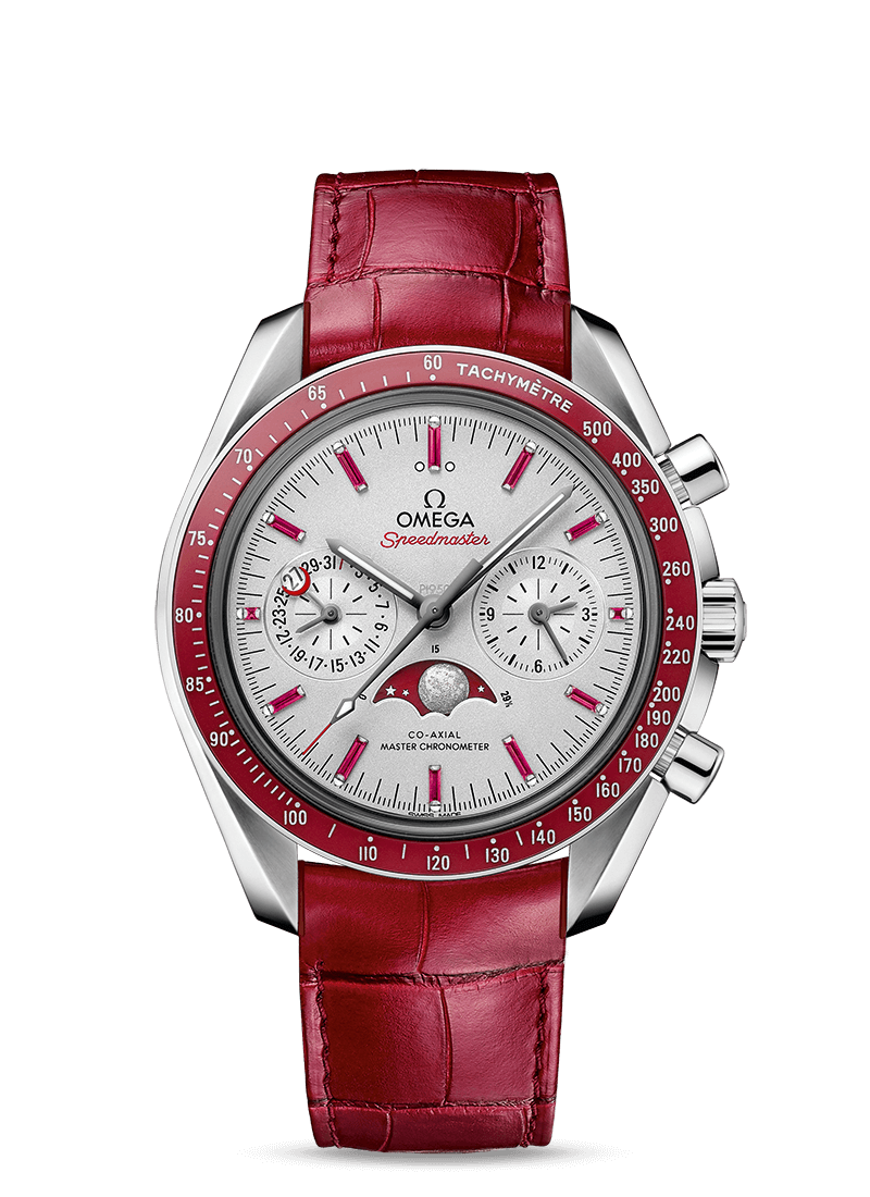 Speedmaster Moonwatch Omega Co-Axial Master Chronometer Moonphase Chronograph 44.25 mm - SKU 304.93.44.52.99.002 Watch presentation