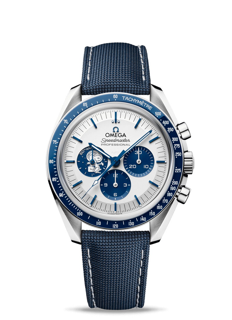 "Speedmaster Moonwatch ""Silver Snoopy Award"" - Número de referencia 310.32.42.50.02.001 Watch presentation"