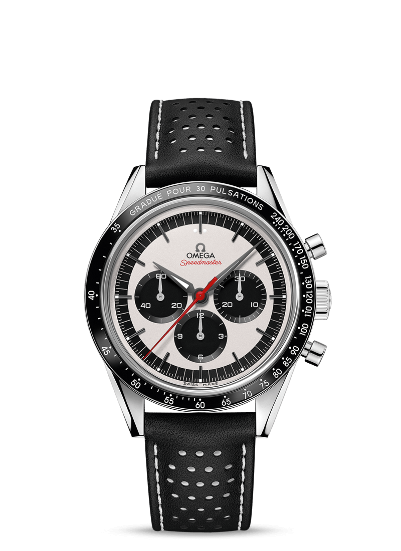 Speedmaster Moonwatch Chronograph 39,7 mm - Codice prodotto 311.32.40.30.02.001 Watch presentation