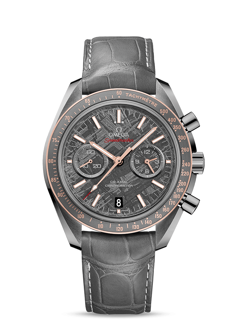Speedmaster Dark Side of the Moon Meteorite - SKU 311.63.44.51.99.001 Watch presentation