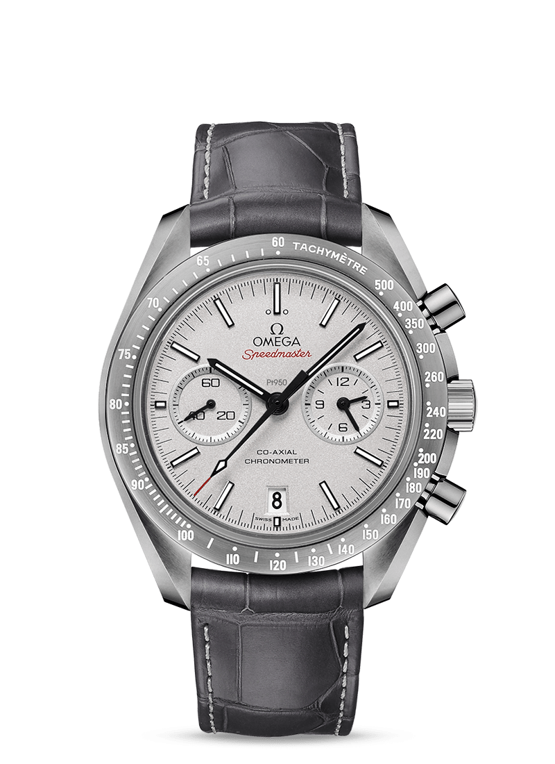 Speedmaster Dark Side of the Moon Grey Side of the Moon - SKU 311.93.44.51.99.001 Watch presentation