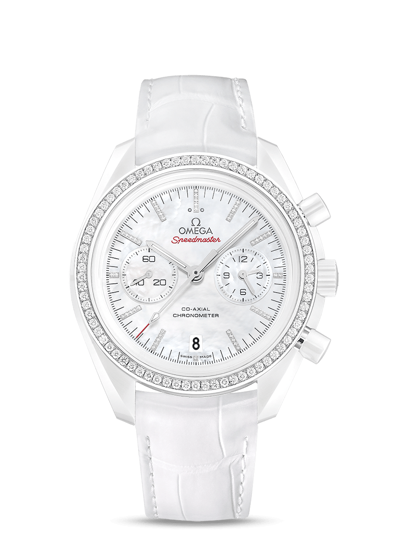 Speedmaster Dark Side of the Moon White Side of the Moon - SKU 311.98.44.51.55.001 Watch presentation