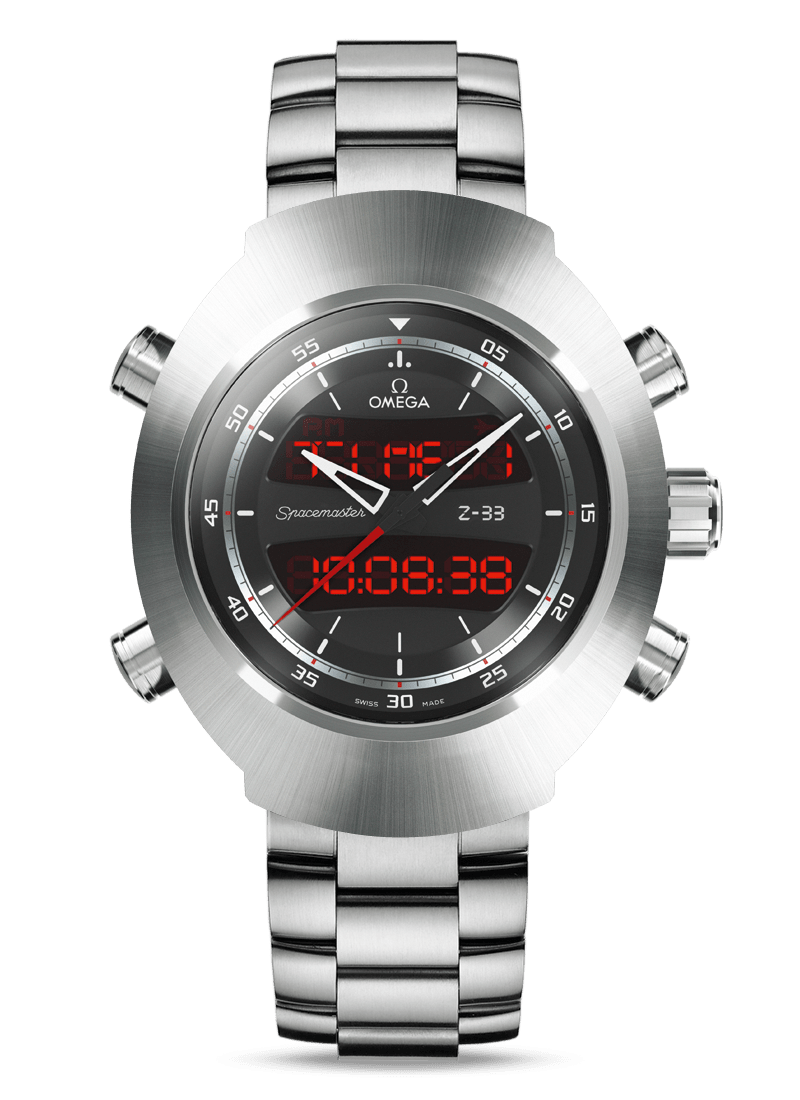 Speedmaster Spacemaster Z-33 Chronograph 43 x 53 mm - SKU 325.90.43.79.01.001 Watch presentation