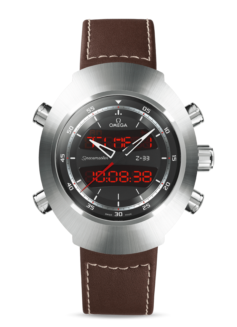 Speedmaster Spacemaster Z-33 Chronograph 43 x 53 mm - SKU 325.92.43.79.01.002 Watch presentation