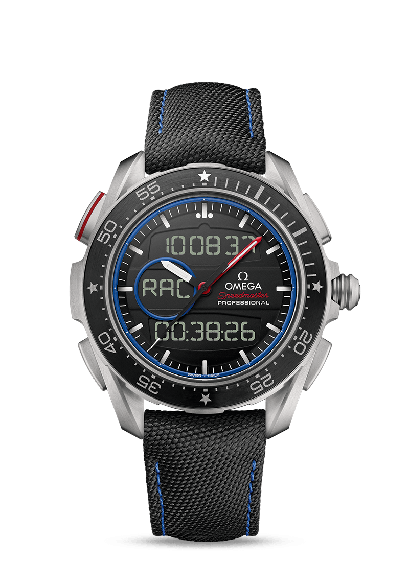 Speedmaster X-33 Regatta ETNZ Limited Edition - SKU 318.92.45.79.01.001 Watch presentation
