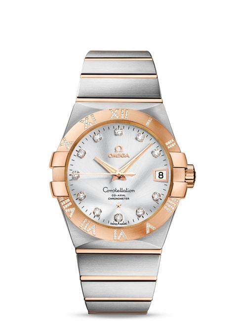 Constellation Omega Co-Axial 38 mm - 123.25.38.21.52.003