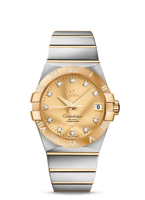 Constellation Omega Co-Axial 38 mm - 123.25.38.21.58.002