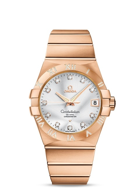 Constellation Omega Co-Axial 38 mm - 123.55.38.21.52.007