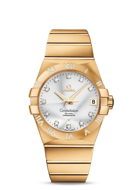 Constellation Omega Co-Axial 38 mm - 123.55.38.21.52.008