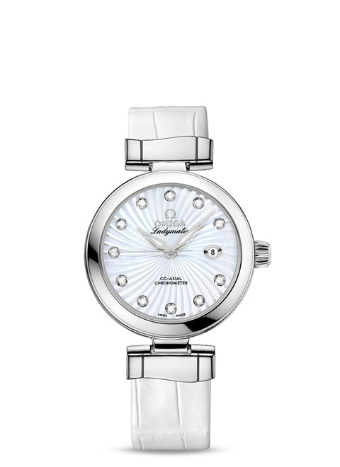 Ladymatic Omega Co-Axial 34 mm - 425.33.34.20.55.001