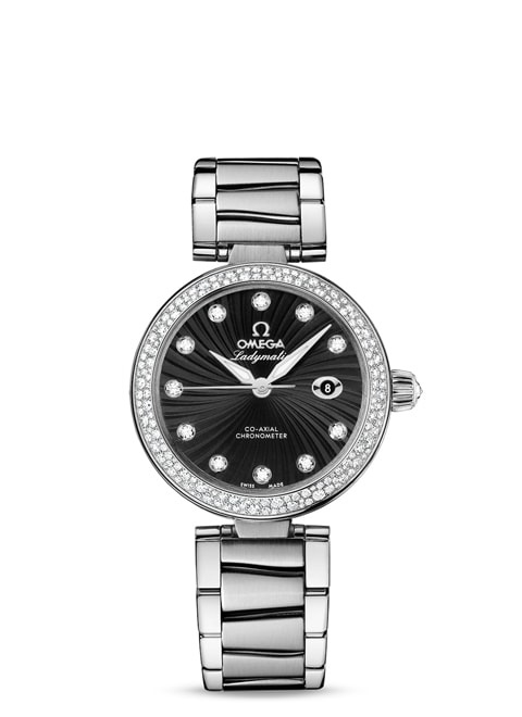 Ladymatic Omega Co-Axial 34 mm - 425.35.34.20.51.001
