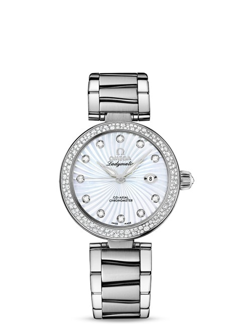 Ladymatic Omega Co-Axial 34 mm - 425.35.34.20.55.001