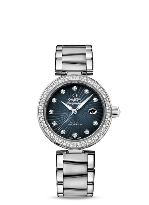 Ladymatic Omega Co-Axial 34 mm - 425.35.34.20.56.001