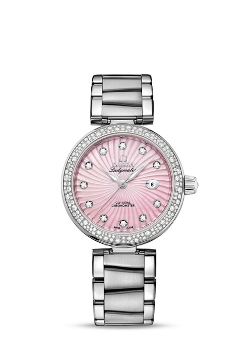 Ladymatic Omega Co-Axial 34 mm - 425.35.34.20.57.001