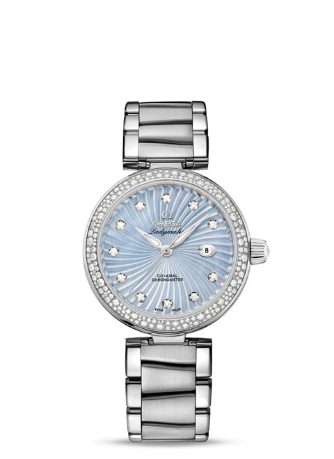 Ladymatic Omega Co-Axial 34 mm - 425.35.34.20.57.002