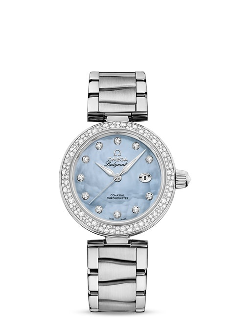 Ladymatic Omega Co-Axial 34 mm - 425.35.34.20.57.003