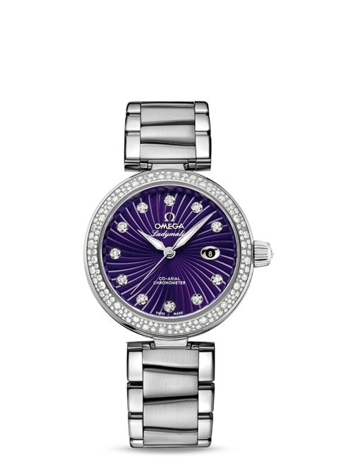 Ladymatic Omega Co-Axial 34 mm - 425.35.34.20.60.001