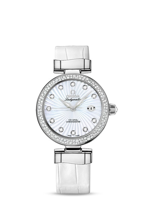 Ladymatic Omega Co-Axial 34 mm - 425.38.34.20.55.001