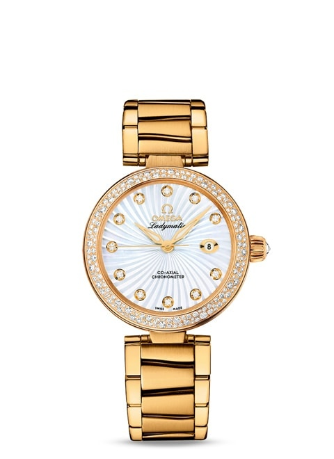 Ladymatic Omega Co-Axial 34 mm - 425.65.34.20.55.004