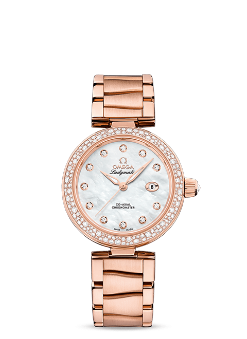 De Ville Ladymatic Co-Axial Chronometer 34 mm - SKU 425.65.34.20.55.010