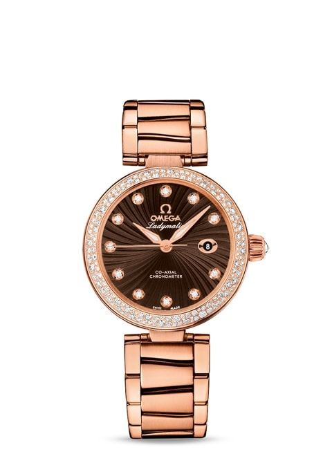 Ladymatic Omega Co-Axial 34 mm - 425.65.34.20.63.002