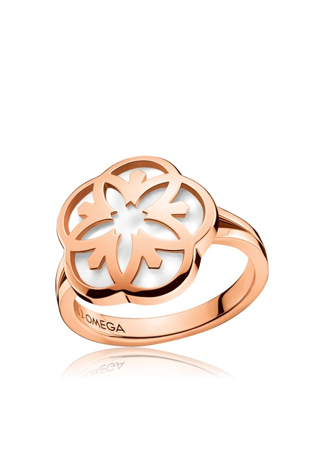 Omega Flower Ring - R603BG07001XX