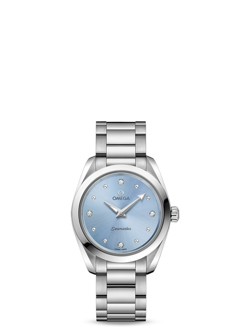 Seamaster Aqua Terra 150M Quartz 28 mm - Steel on steel