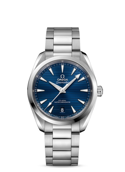 Seamaster Aqua Terra 150M Omega Co-Axial Master Chronometer 38 mm - Steel on steel