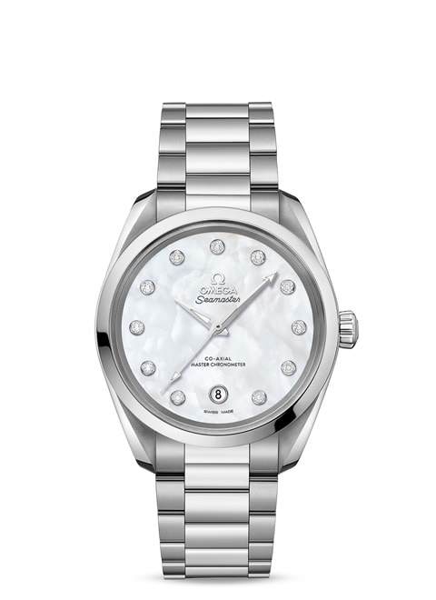 Aqua Terra 150 M Omega Co-Axial Master Chronometer Damen 38 mm - 220.10.38.20.55.001