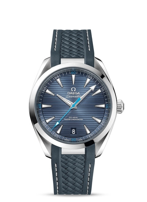 Seamaster Aqua Terra 150M Omega Co-Axial Master Chronometer 41 mm - Steel on rubber strap