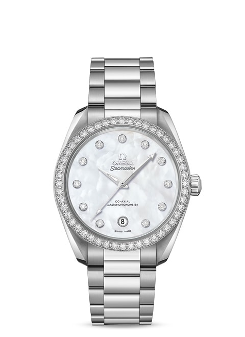Aqua Terra 150 M Omega Co-Axial Master Chronometer Damen 38 mm - 220.15.38.20.55.001