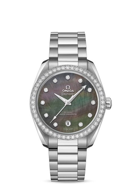Aqua Terra 150 M Omega Co-Axial Master Chronometer Damen 38 mm - 220.15.38.20.57.001